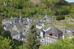 Monschau, Eifel, Niemcy Obrazy Royalty Free