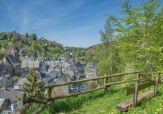 Monschau,Eifel,North Rhine westphalia,Germany. Idyllic Village of Monschau in Eifel,North Rhine westphalia,Germany royalty free stock photo