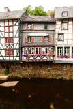 Monschau en verano Fotografía de archivo libre de regalías