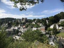 Monschau in Germany Stock Image