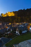 Monschau At Night, Germany Stock Photos