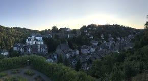Monschau panorama Royalty Free Stock Photo
