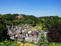 View Of Monschau Stock Photos