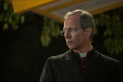 Monseñor Guido Marini Imagenes de archivo