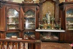 Monselice, Italië - Juli 13, 2017: Mening van Villa Dudo en de Kerk van St George Stock Afbeelding