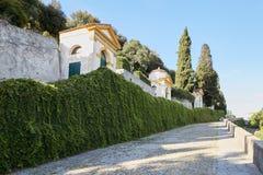 Monselice, Italië - Juli 13, 2017: Villa Dudo Complex van zeven kerken Royalty-vrije Stock Fotografie