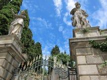 Monselice, Padua, Italië Stock Foto's