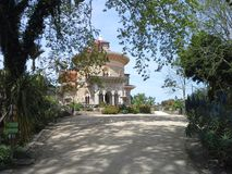 Monserrante pałac w Monserrate parku, Sintra obrazy royalty free