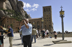 Monserrat, Barcelona Stock Image