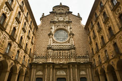 Monserrat facade Stock Photography