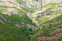 Monserrat funicular. Spain Stock Photo
