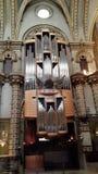 Monserrat monastry, Catalonia. Monserrat Monastry in Catalonia interior. Church organ Stock Image