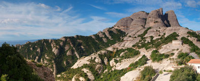 Monserrat mountain Stock Photography