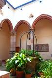 Monserrat Mountain Abbey, Barcelona Royalty Free Stock Images