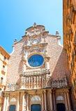 Monserrat Mountain Basilica Royalty Free Stock Photo