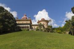 Monserrate宫殿在辛特拉-葡萄牙 免版税图库摄影