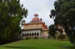 Monserrate宫殿,辛特拉,葡萄牙 库存图片