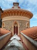 Monserrate宫殿,金塔da Monserrate在辛特拉,葡萄牙 库存照片