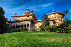 Monserrate宫殿 库存图片