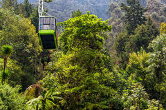 Monserrate Aerial Tramway View Royalty Free Stock Photography