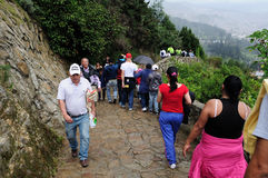 Monserrate - Bogota Stock Photography