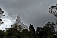 Monserrate Church. Picture of Monserrate Church in Bogota - Colombia royalty free stock images