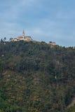 Monserrate kyrka - Bogota, Colombia Royaltyfria Bilder