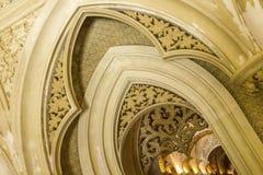 Monserrate pałac w Sintra Archways zdjęcie royalty free