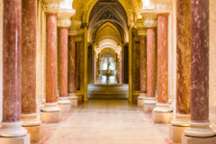 Monserrte Palace in Sintra, Portugal Royalty Free Stock Images