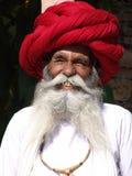 Monsieur au chameau juste, Jaisalmer, Inde Image libre de droits