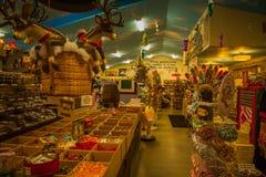 Monsieur Eds Elephant Museum et intérieur de centre commercial de sucrerie Images libres de droits
