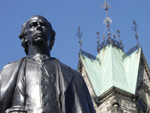 Monsieur Wilfrid Laurier Images libres de droits