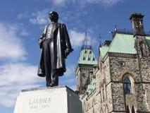 Monsieur Wilfrid Laurier 1841-1919 Images libres de droits