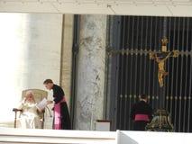 Monsignor格奥尔Ganswein 免版税库存图片