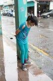 Monsone in Kuching, Borneo Immagini Stock Libere da Diritti