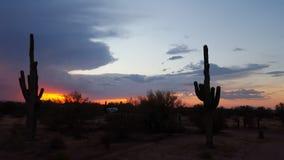 Monsoni sudoccidentali dell'Arizona Fotografia Stock Libera da Diritti