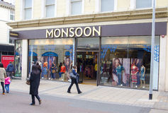 Monsoon Clothing Shop in Leeds Royalty Free Stock Photos