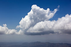 Monsoon Clouds Royalty Free Stock Photography