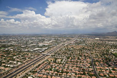 Monsoon Clouds Over Scottsdale Royalty Free Stock Images