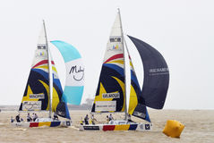 The Monsoon Cup 2008 Sailing Race Stock Photography