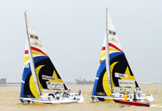 The Monsoon Cup 2008 Sailing Race Stock Image