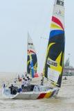 The Monsoon Cup 2008 Sailing Race Stock Photos