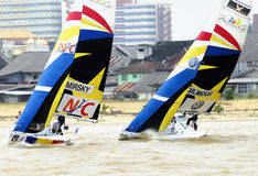 The Monsoon Cup 2008 Yachting Race Stock Image