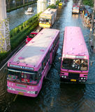 Monsoon flooding in Bangkok, November 2011 Royalty Free Stock Photography