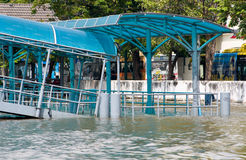Monsoon flooding in Bangkok October 2011 Stock Image