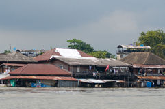 Monsoon flooding in Bangkok October 2011 Royalty Free Stock Image