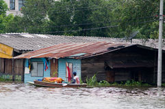 Monsoon flooding in Bangkok October 2011 Stock Photography