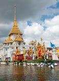 Monsoon flooding in Bangkok, October 2011 Royalty Free Stock Photos