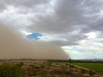 Monsoon Haboob Royalty Free Stock Photography