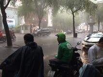 Monsoon rain Royalty Free Stock Photo